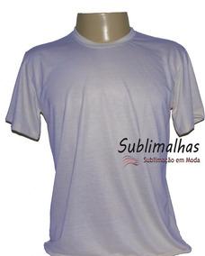 15 Camisas Sublimação Branca E Cores Claras 100% Poliéster
