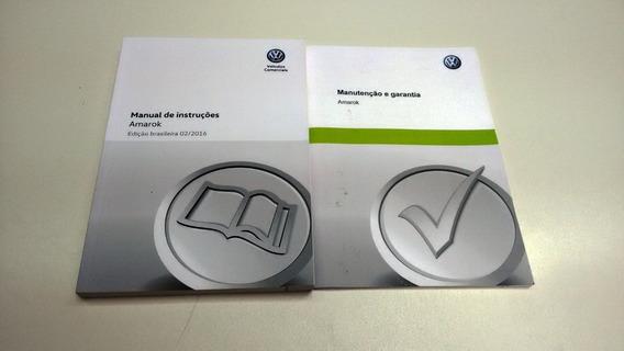 Manual De Instrução + Manual De Manutenção Amarok