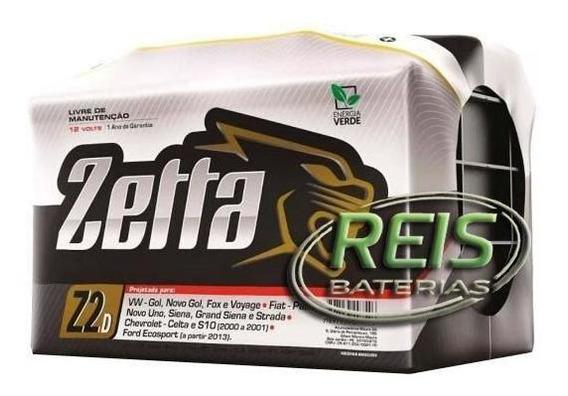 Bateria De Carro Zetta 60 Amperes Z60d Fabricação Moura