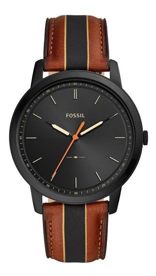 Relógio Fossil The Minimalist Masculino Preto Fs5556/0pn