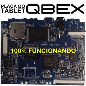 Placa Mãe Principal Tablet Qbex Tx 126 Tx126 Funcionando
