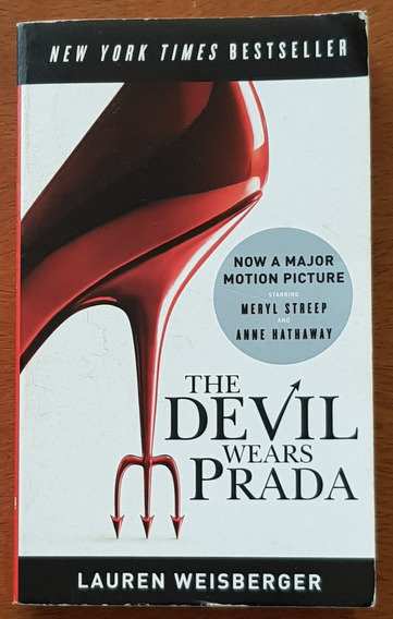 Livro The Devil Wears Prada - Lauren Weisberger Diabo Veste