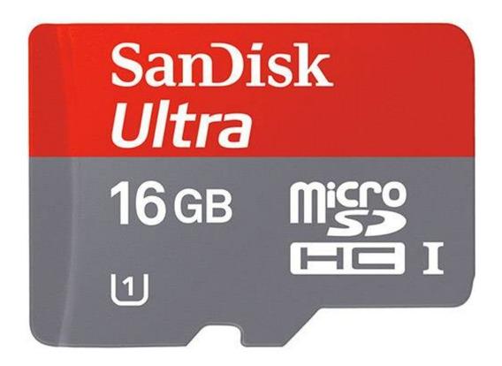 Cartão Memoria Micro Sd 16gb Classe10 Ultra 100% Original
