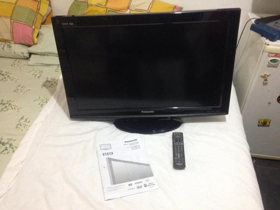 Tv Panasonic Lcd 32 Tc-l32g11b Quebrada Não Liga Ler Tudo
