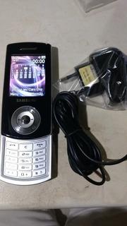 Celular Samsung Sgh F275l Sem A Tampa Da Bateria