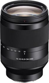 Lente Sony Fe 24-240mm F/3.5-6.3 Oss, Full Frame E-mount