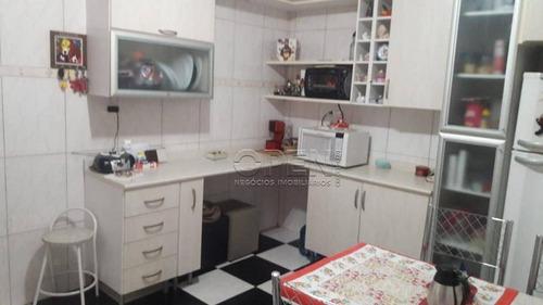 Casa Com 2 Dormitórios À Venda, 97 M² Por R$ 425.000,00 - Vila Linda - Santo André/sp - Ca0633