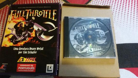 Jogo 1995 - Pc - Full Throttle - Lucas Arts - Raridade!!!!