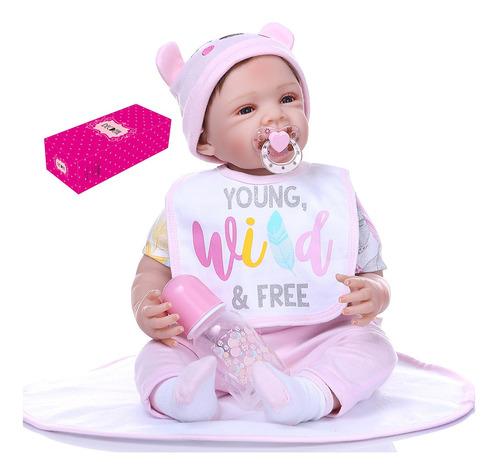 Imagen 1 de 5 de Decdeal Reborn - Muñeca Para Bebé (21 Pulgadas), Diseño De S