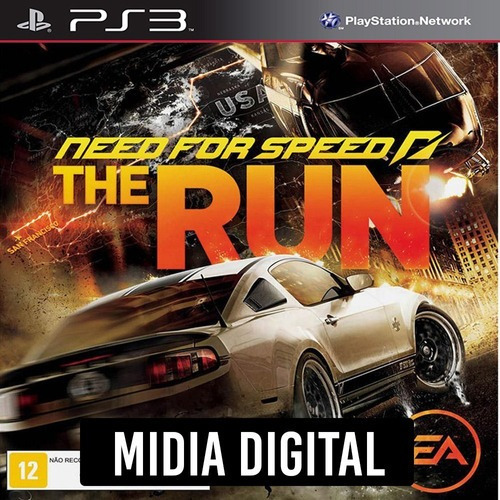 Ps3 Psn* - Need For Speed The Run