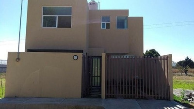 ¡¡ Estrena Hermosa Casa Con Tres Recamaras En Yauhquemecan Tlaxcala !!