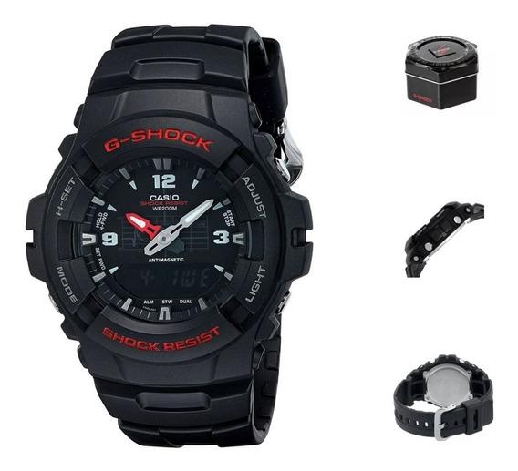 Reloj Casio G Shock G100 1d Hombre Correa Resina Wr200