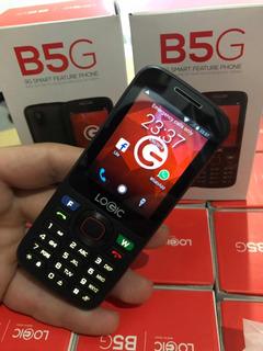Logic B5g Básico 3g Whatsapp Facebook Multibam Camara