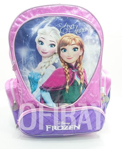 Disney Frozen Mochila 17 Pul Elsa Ana Espalda Wabro Original
