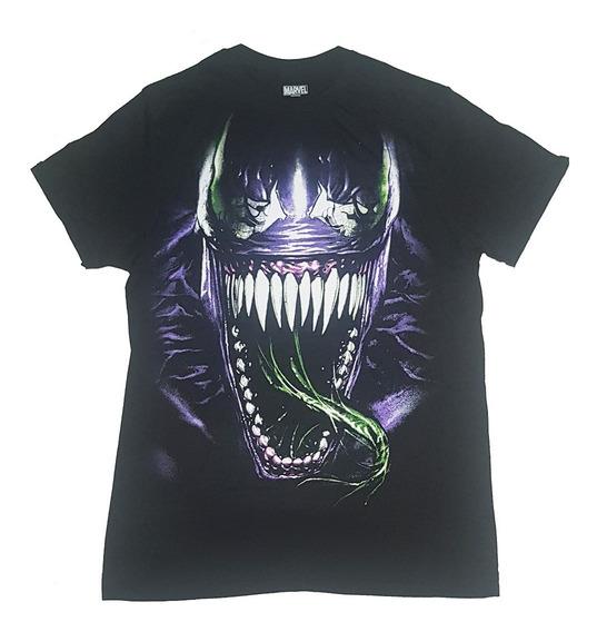 Remeras Venom Marvel Originales Talle M, L Importadas Nuevas