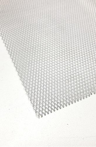 Imagem 1 de 5 de Tela Expandida Alumínio 100 X 50cm 3,5x6mm