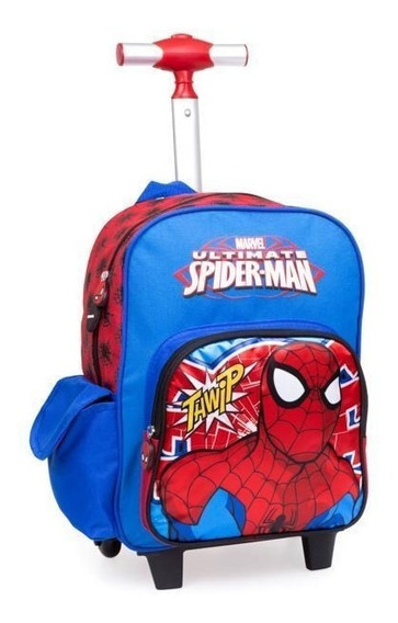 Mochila Spiderman Azul