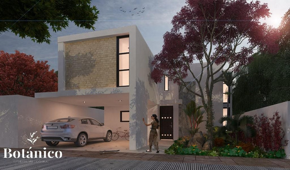 Casa En Venta,3 Rec Y Alberca,privada Botánico,conkal,mérida,yucatán