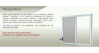 Mosquiteros De Aluminio A Medida !!!