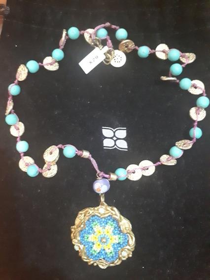 Gargantilla De Chapa De Oro