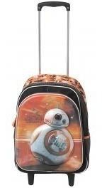 Mochila Infantil Escolar Com Rodinhas Sestini - Star Wars 17