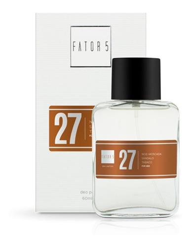 Perfume Fator 5 - Numero 27 (inspiração: L'eau D'issey Men)