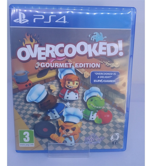 Overcooked: Gourmet Edition (seminovo) - Ps4
