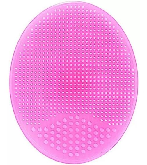 Cepillo Facial Silicon Rostro Exfolia Esponja Maquillaje Spa