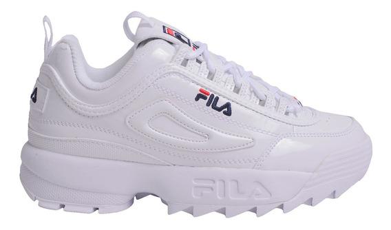 Zapatillas Fila Disruptor Ii Premium Patent -5fm00542125