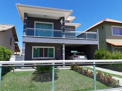 Casa Com 3 Quartos Sendo 1 Suíte Em Condômino - Maricá/rj - Ca3395