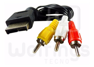 Cable 3 Rca Ps2 + Cable Hdmi 3 Mts + Cable Cargador Joystick