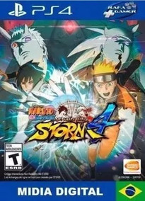 Naruto Shippuden Ultimate Ninja Storm 4 Ps4 Mídia Digital