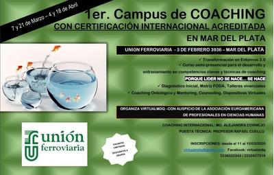 Coach Con Certificacion Internacional