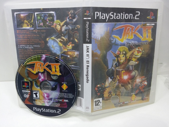 Jak2 Jak 2 Naught Dog Fisico Ps2 Playstation 2 Rarissimo
