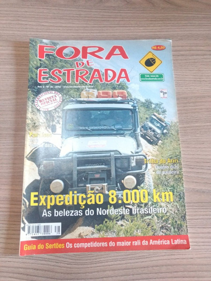 Revista Fora De Estrada 38 Trilha Do Airiri Nordeste 600
