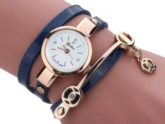 Relógios Feminino Pulseira Em Couro Retro Vintage