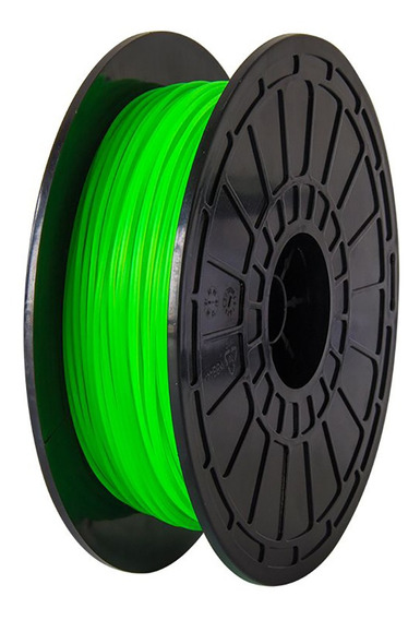 Filamento 3d 0.5kg 1.75mm Impressoras Flashforge Pla Verde