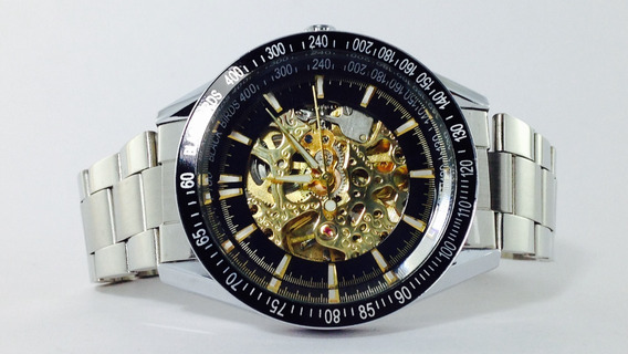 Reloj Black Birds Skeleton Automatico. (inv 641)