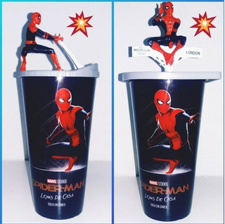 Vaso Spiderman Set X 2 Vasos De Cinemark Hoyts Cine 2019
