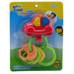 Chaveiro Baby Carrinho Com Som E Fixação 1653 - Bee Me Toys