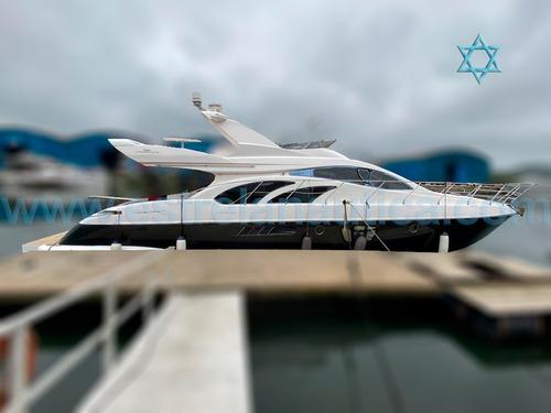 Lancha Intermarine 580 Barco Iate Ferretti Azimut Cimitarra