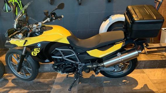 Moto Bmw F 650 Special L 2012 Amarillo Brillante