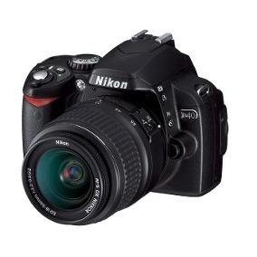 Nikon D40 + Lente 18-55mm + Bolsa