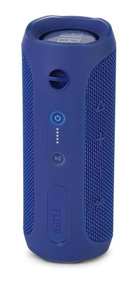 Caixa de som JBL Flip 4 portátil sem fio Blue