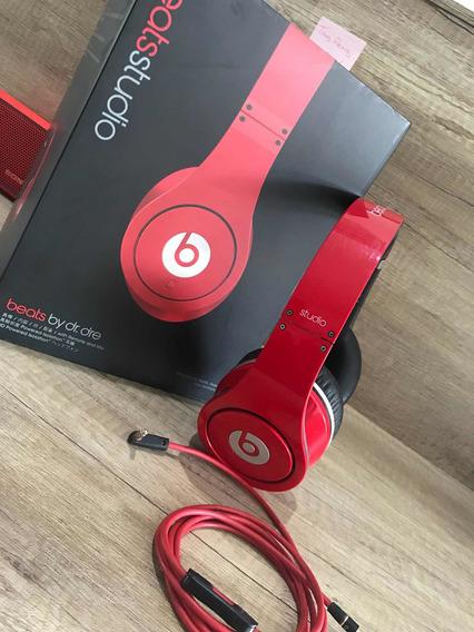 Beats Studio Vermelho