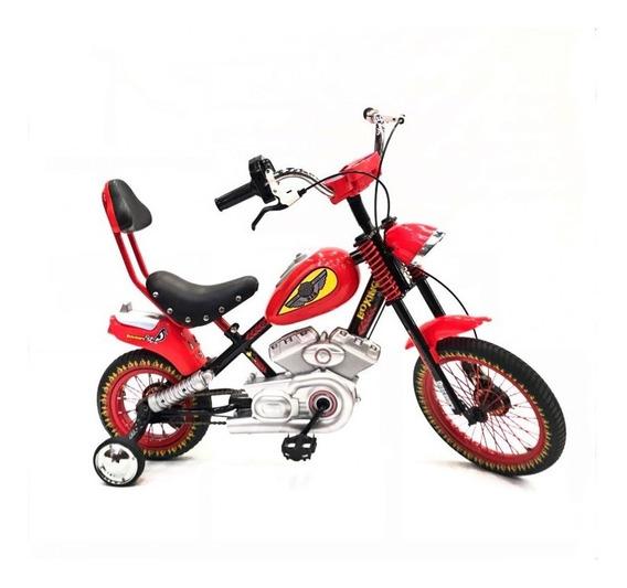Bicicleta Moto Cross R16 021-7112l