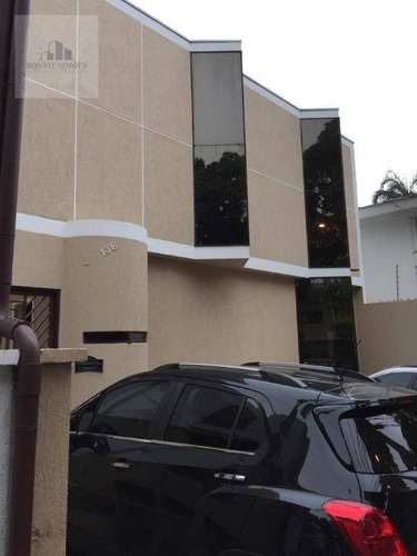 Imagem 1 de 19 de Casa, Escritório Comercial À Venda  Em Moema, 15 Salas Amplas, 5 Banheiros, 4 Vagas De Garagem, 300 M², 387 M², São Paulo. - Ca0138