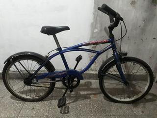 Bicicleta Playera Niño Rodado 20