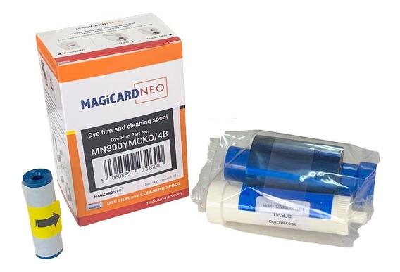 Ribbon Magicard Color P/ Enduro Neo E Rio Neo Mn300ymcko *