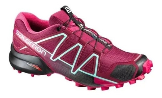 Salomon Speed Cross 4 Mujer, Trekking, Running, Gym - Salas